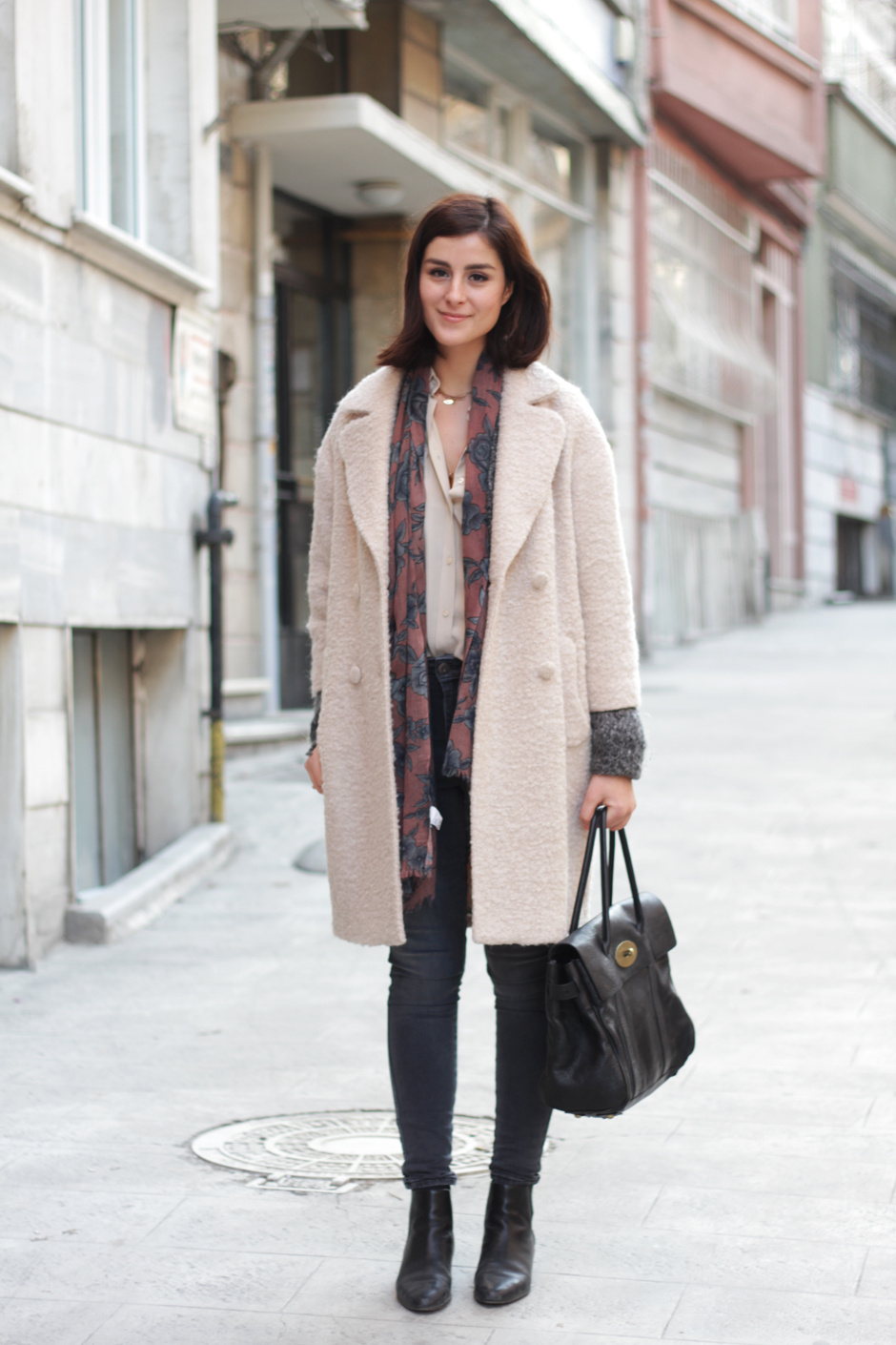 Powder Pink Coat – Nil Erturk